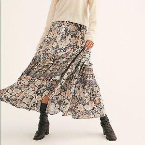 Amethyst Maxi Skirt in Nightfall
